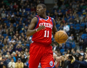 Philadephia 76ers' Jrue Holiday