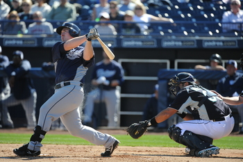 Jedd Gyorko has made a splash early in spring training.