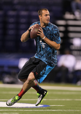 Landry Jones apparently did well in passing drills at the combine.