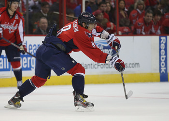 Alex Ovechkin recorded his first hat trick in over two years on the weekend, scoring three goals against the New Jersey Devils.