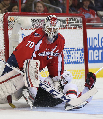 Goaltender Braden Holtby has two shutouts in his past seven starts.