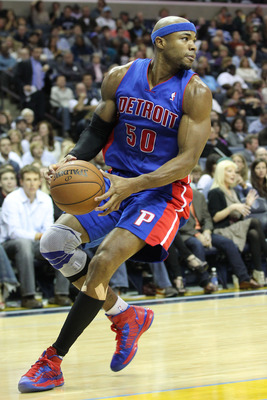 Corey Maggette hasn't played since December for the Pistons.