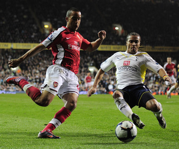 Walcott and Assou-Ekotto in 2010