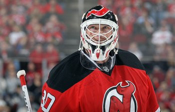 Brodeur is in his 19th season in the NHL.