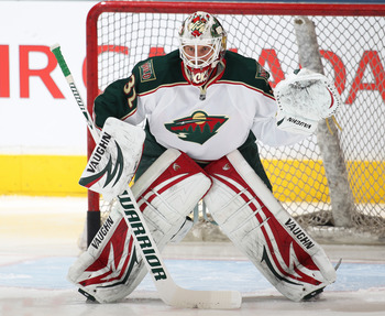 Backstrom has been solid in net for the Wild this season.