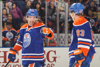 Sam Gagner has been the model of consistency for the Edmonton Oilers this season.
