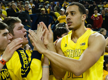 A healthy Jordan Morgan will make a huge difference for the Michigan Wolverines on the interior.