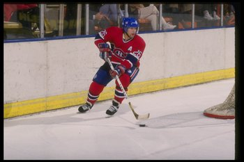 Mats Naslund of the Montreal Canadiens.