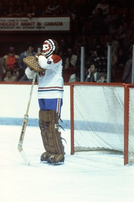 Ken Dryden of the Montreal Canadiens.