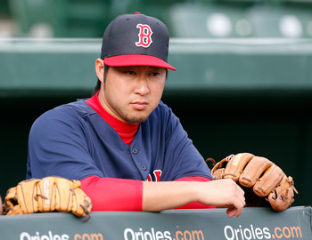 The Red Sox have a lot of quality arms competing for the their bullpen, especially the impressive Tazawa.