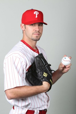 February 18, 2013; Clearwater, FL, USA; Philadelphia Phillies pitcher Adam Morgan (78) poses for a picture during photo day at Bright House Networks Field. Mandatory Credit: Kim Klement-USA TODAY Sports