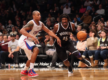 Gerald Wallace and the Nets got the best of the Clippers in their first meeting this season.