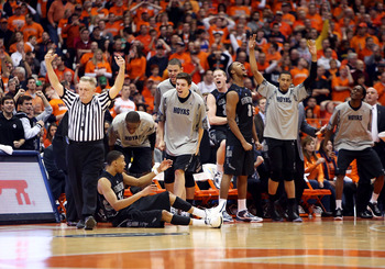 Georgetown snapped Syracuse's nation-best home win streak.