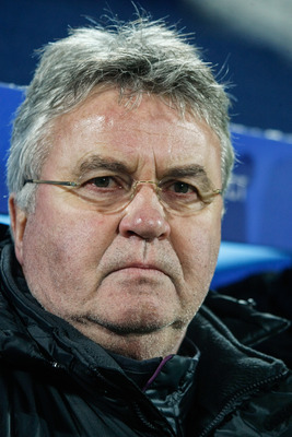 Current Anzhi manager Guus Hiddink