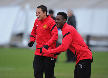 Hernandez and Welbeck should get a start each in United's two crunch encounters