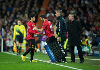Kagawa failed to make an impression at the Bernabeu
