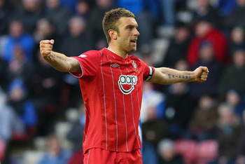 Rickie Lambert is now a member of Saints' 100 Club
