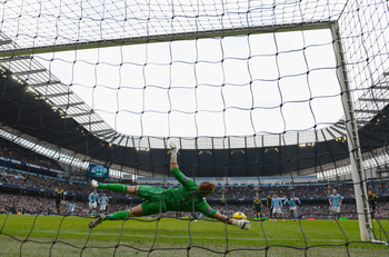 Joe Hart turned the game in City's favour last Sunday