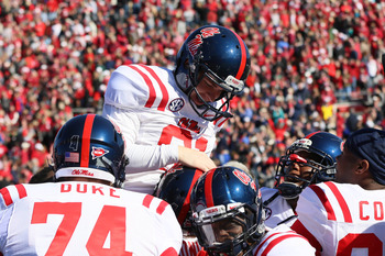 Ole Miss will replace a starting kicker and punter in 2013.