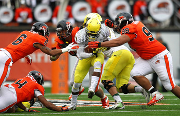 Oregon State needs to rebuild its D-line in 2013.