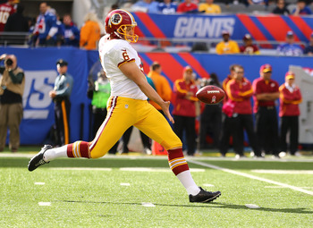Sav Rocca will have to recover from meniscus surgery, so the Redskins could look to another option at punter despite his solid 2012 campaign.