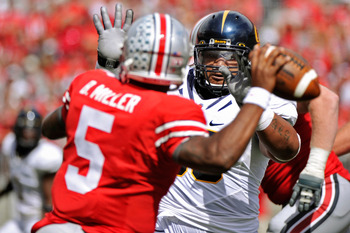 Braxton Miller will look to improve his passing numbers in 2013.