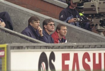 Arsene Wenger's First Game in Charge of Arsenal vs. Blackburn Rovers