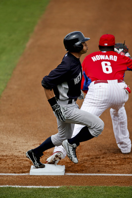 Ryan Howard has been hot all spring, hitting for a team high average of .533