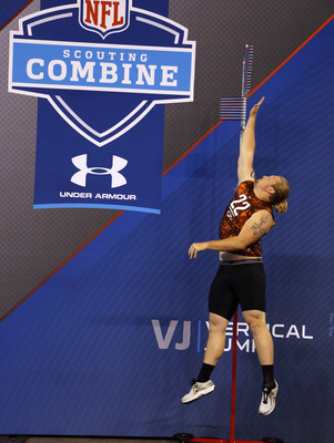 Garrett Gilkey ranks 7th on the agility to size index