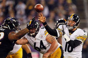 Charlie Batch led the Steelers to a win over the Ravens in 2012.