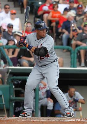 Triple Crown winner Miguel Cabrera headlines a stacked offense for Venezuela.