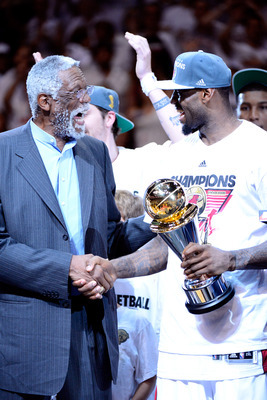 LeBron has Bill Russell's regular season MVP run in his sights.