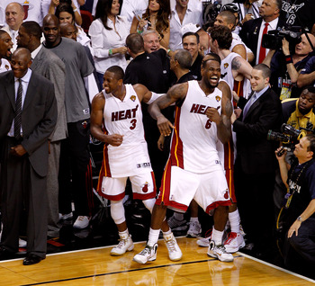 The Heat look to become the first East team to repeat since Chicago.