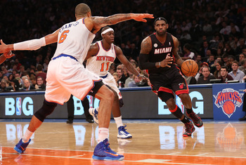 LeBron will give a command performance at MSG on Sunday.