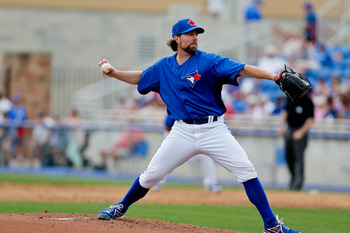 R.A. Dickey will front a stacked starting rotation for the United States.