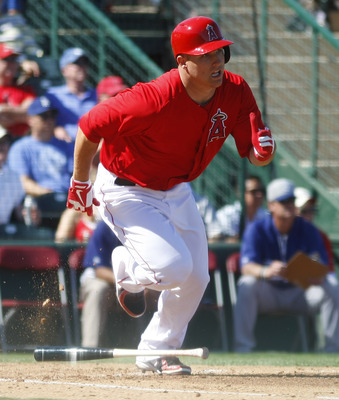 Mike Trout should be fine despite some extra baggage.