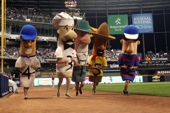 Apparently, there's nothing worse than a missing racing sausage.