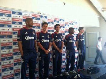 Photo courtesy of Chivas USA Twitter (@cdchivasusa)
