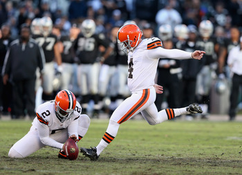 The Browns may lose Phil Dawson to free agency.