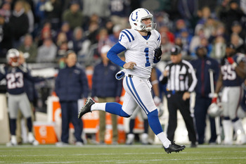 Punter Pat McAfee received the franchise tag last week.