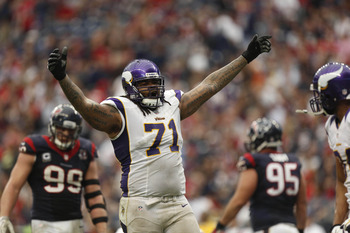 Phil Loadholt will have offers if the Vikings don't franchise him.