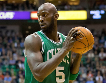 Boston Celtics' Kevin Garnett