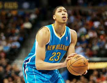 New Orleans Hornets' Anthony Davis