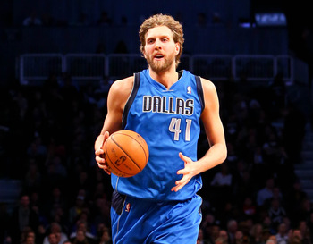 Dallas Mavericks' Dirk Nowitzki