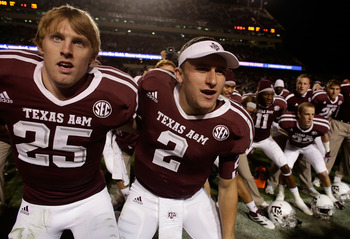 Ryan Swope and Johnny Football
