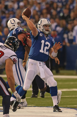 Andrew Luck is the future for the Colts.