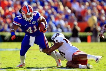 Hunter Joyer is the best option at fullback for the Gators.