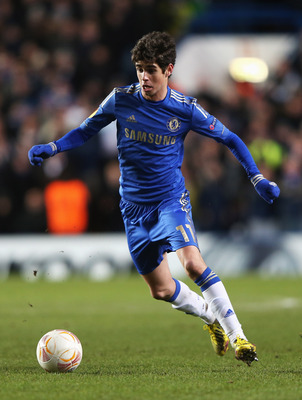 Oscar is in excellent form for Chelsea at present.