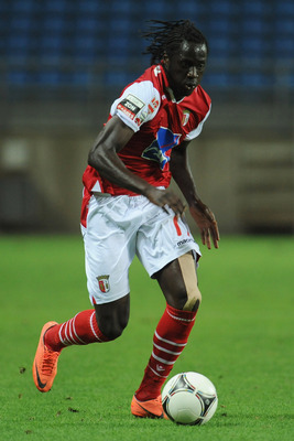 Braga and Portugal striker Eder has been ruled out for the rest of the season.