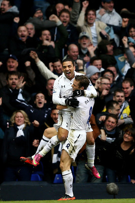 Aaron Lennon and Scott Parker.